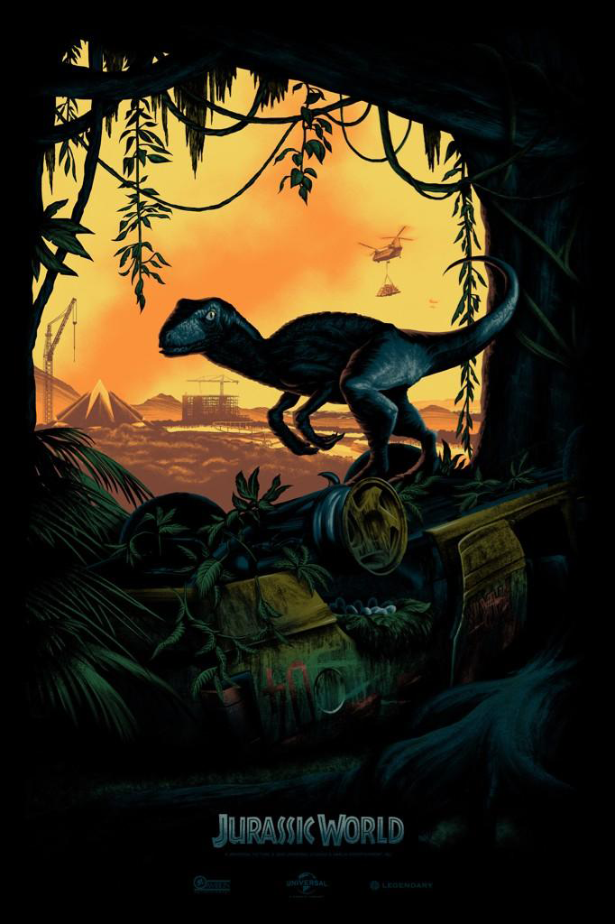 First Jurassic World Poster